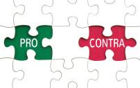 Puzzlestücke Vor- und Nachteile